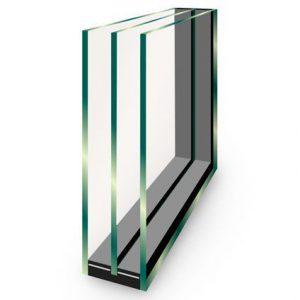 Triple glas lichtstraat